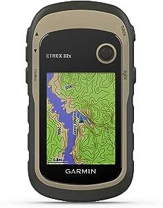 """Garmin ETREX 32x GPS de Mano con Pantalla Color de 2.2"""" y Mapa ..."""