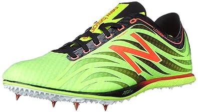 New Balance Men's LD5000V3 Track Spike Shoe, Lime/Black, ...