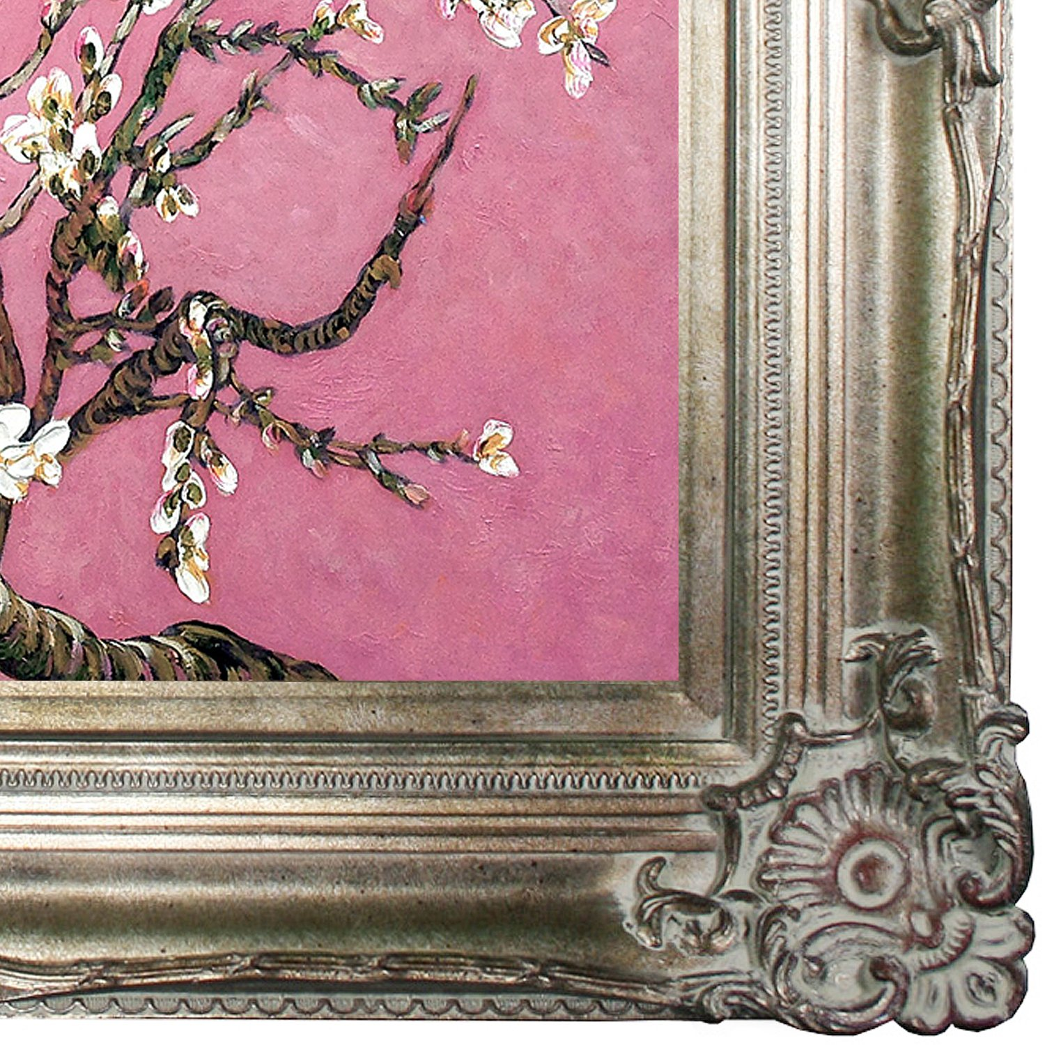 fc59b6ba1411 Wall Art La Pastiche VG3037-FR-801S20X24 Framed Oil Painting Almond ...