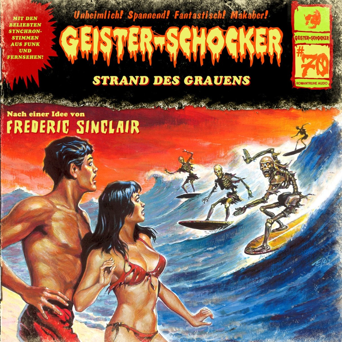 Geister-Schocker (70) Strand des Grauens - Romantruhe 2017