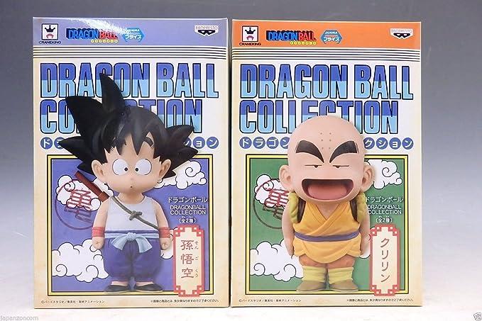 DRAGONBALL COLLECTION Goku Krilin (Kuririn) pack de 2 figuras ...