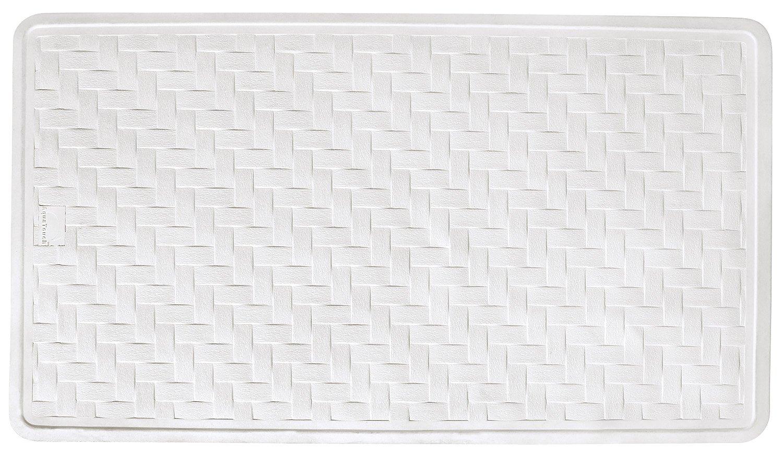 AquaTouch Rubber Safety Bath Mat Large, White 16' x 28'