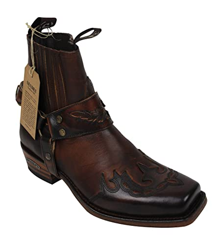 4e2ca395d871 Sendra Boots Stiefel Cowboystiefel 7811 in braun incl. Roy Dunn´s ...