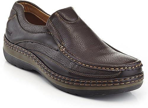 Para Hombres Zapatos Trabajo Slip-on pisos Zapatilla Zapatos Informales Mocasines Mocasín Big Size Uk