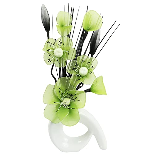 Faux Flowers In Vase Amazon