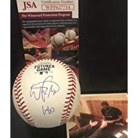 $109 » Wander Franco Tampa Bay Rays Autographed Signed Official Major League 2019 Futures Game…