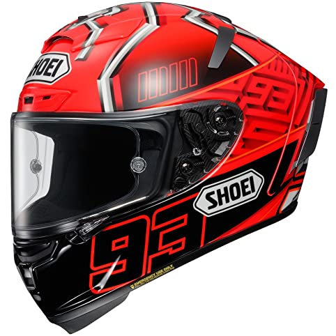 Shoei X-Spirit 3 Full Face Race Sports Motorcycle Helmet - Marquez XL