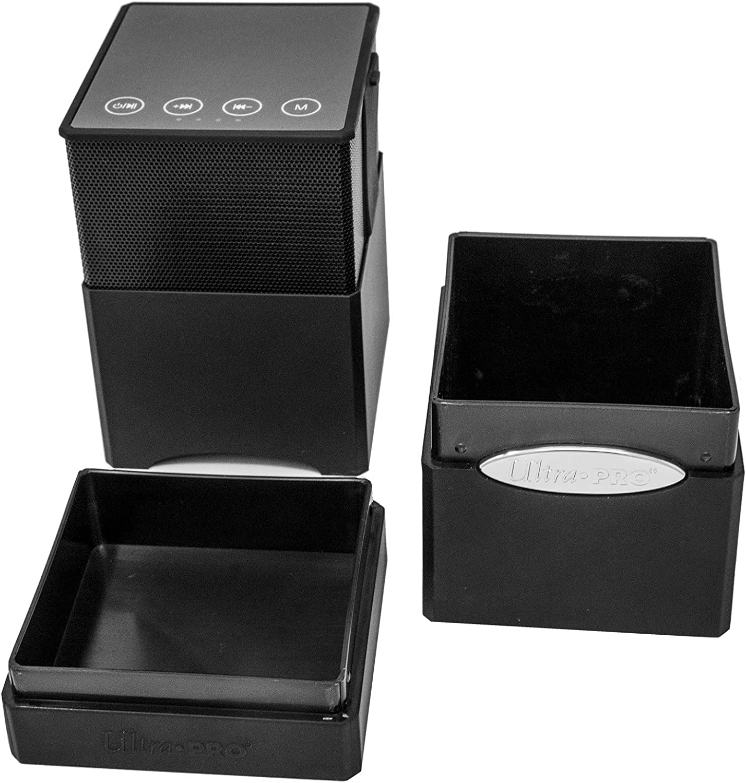 Black Ultra Pro Satin Tower Boombox Deck /& Dice Box