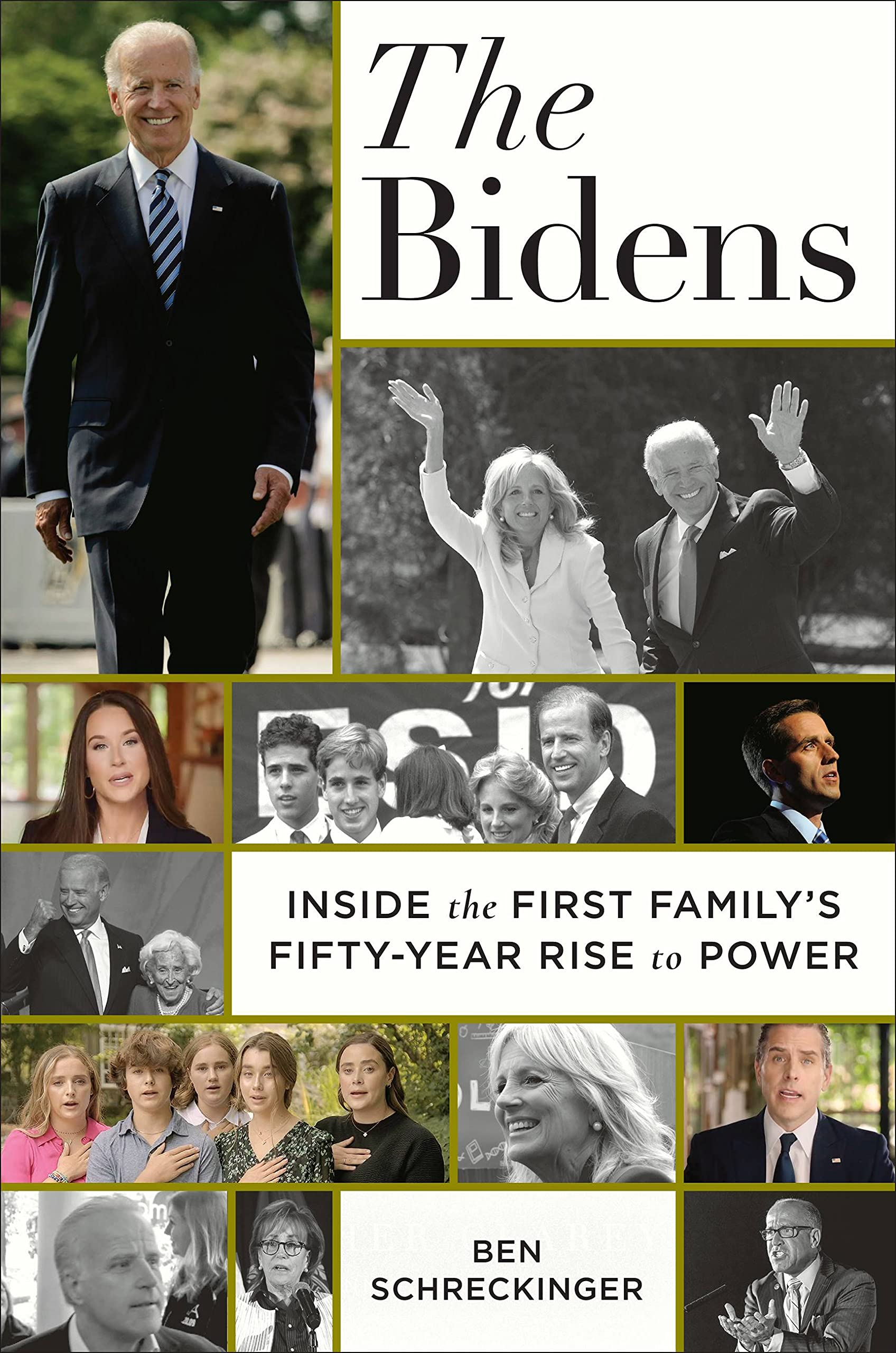 Amazon.com: The Bidens: Inside the First Family's Fifty-Year Rise to Power:  9781538738009: Schreckinger, Ben: Books