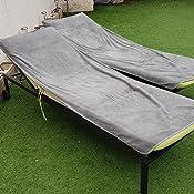 Toalla para tumbona de playa y jardin , funda de tejido de rizo , 100 % algodon, 75x200cm