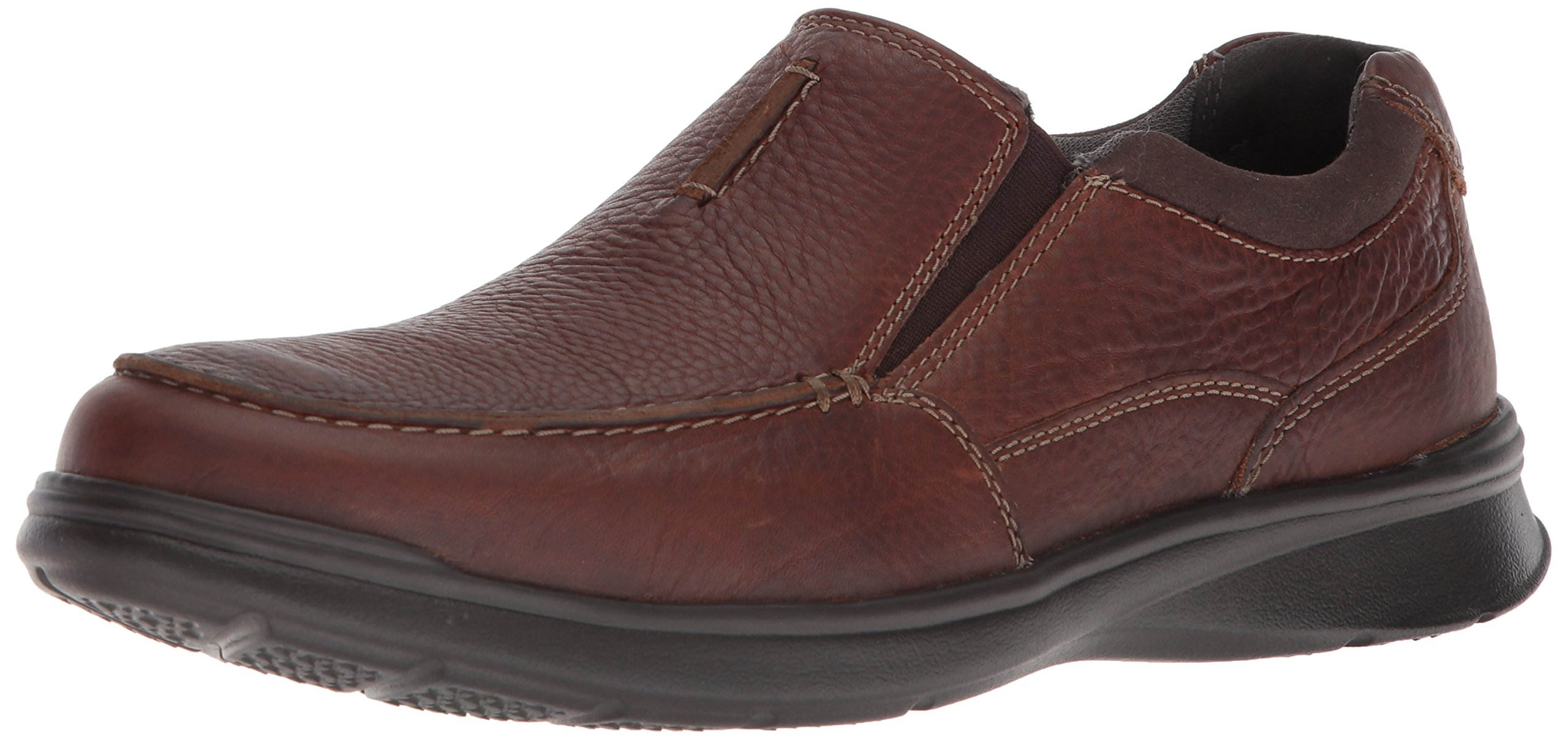 CLARKS Men's Cotrell Free Loafer, Tobacco Leather, 10 Medium US