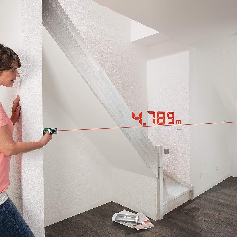 Medidor de distancias l/áser digital Bosch PLR 30 C 2 pilas AAA, alcance: 0,05-30 m, en cart/ón