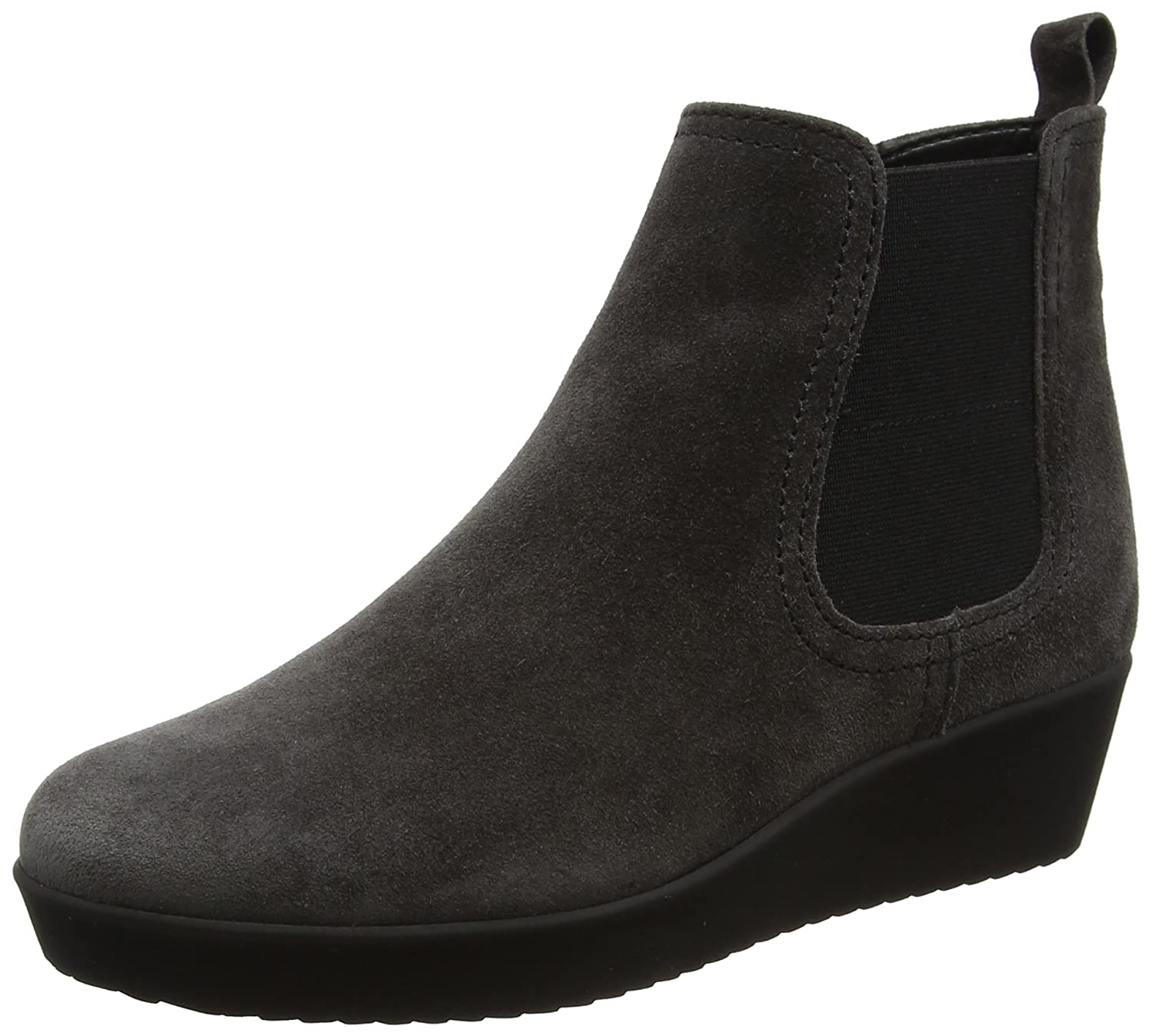 Gabor Shoes Comfort Basic, Botas Para Mujer38 EU|Gris (49 Dark-grey Micro)