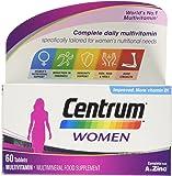 Centrum Multivitamin Tablets for Women, Pack of 60