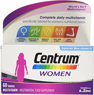 Centrum Complete A Z Multivitamins For Women 30 Tablets Amazon Co