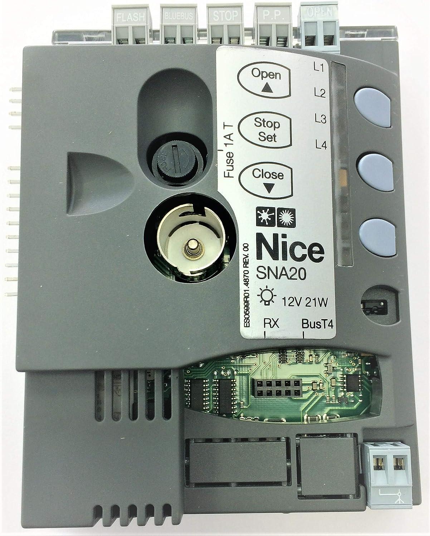 Nice SNA20 - Placa electrónica de repuesto para SPIN SPINBUS SPIN23KCE: Amazon.es: Bricolaje y herramientas