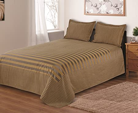 Cloth Fusion Prima Satin 300TC Bed Cover - Single (60