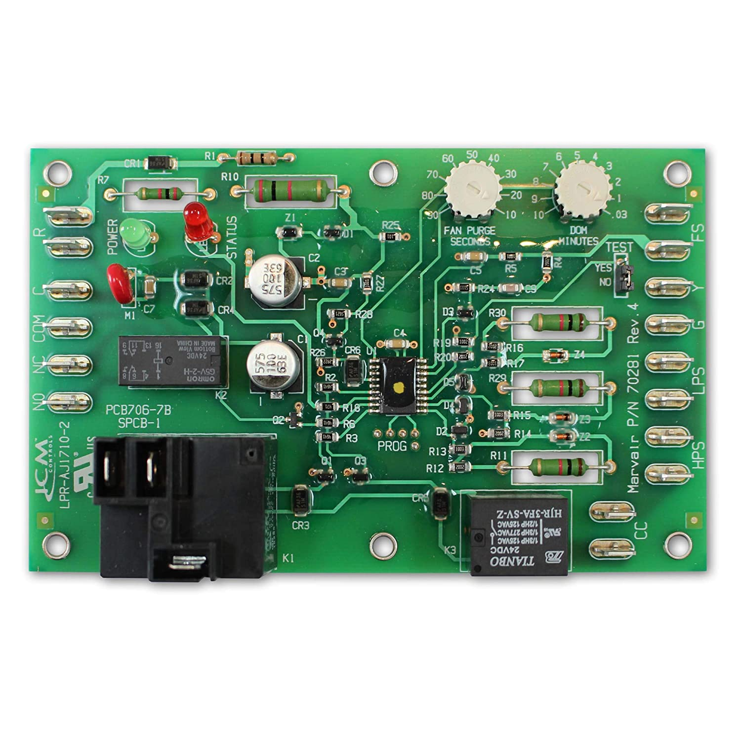 Marvair 70281 Electronic Control Board for ComPac AC: Amazon ...