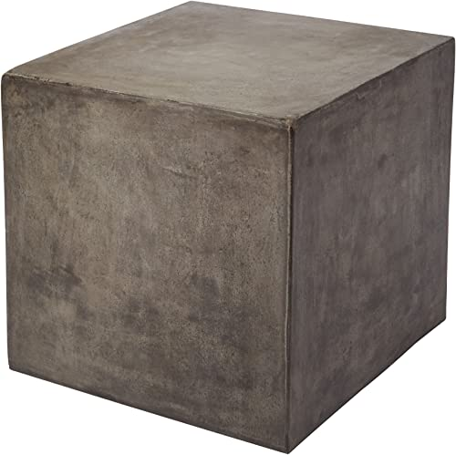 Dimond Home Cubo Concrete Cube Table