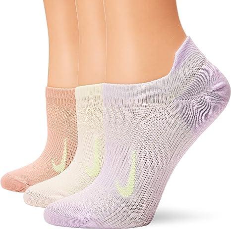 Nike Everyday Plus Lightweight Training No Show Socks 3-Pair Pack