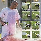 TAYTHI Garden Hose Nozzle Hand Spray Nozzle with
