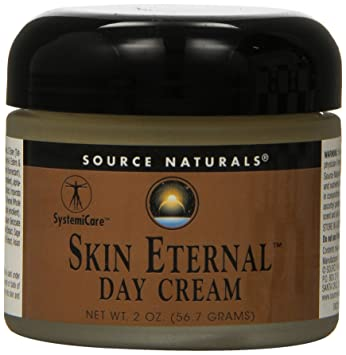 Source Naturals, Skin Eternal Day Cream, 4 oz (pack of 2) (3 Pack) SECRET KEY Snow White Milky Lotion