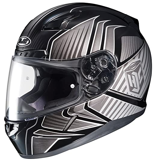 Amazon.com: HJC CL-17 Redline Full-Face Motorcycle Helmet (MC-26, Medium): Automotive