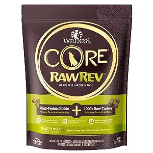 CORE RawRev Healthy Weight + 100% Raw Turkey