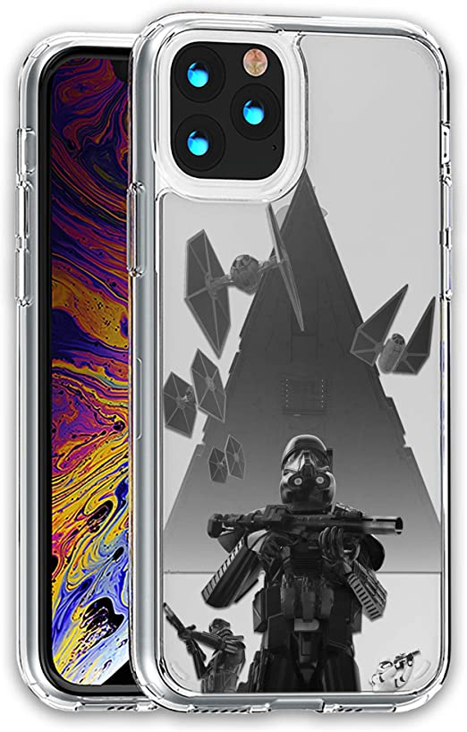 Star-Wars Star Destroyer Clear case Compatible with iPhone 12 Pro max Mini 11 Xr X 7 8 Plus SE Compatible with Galaxy s20 S20 Ultra and Others ...