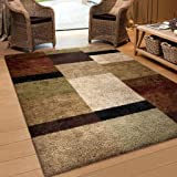 Amazon Com Earth Rugs Round Area Rug 5 75 Burgundy