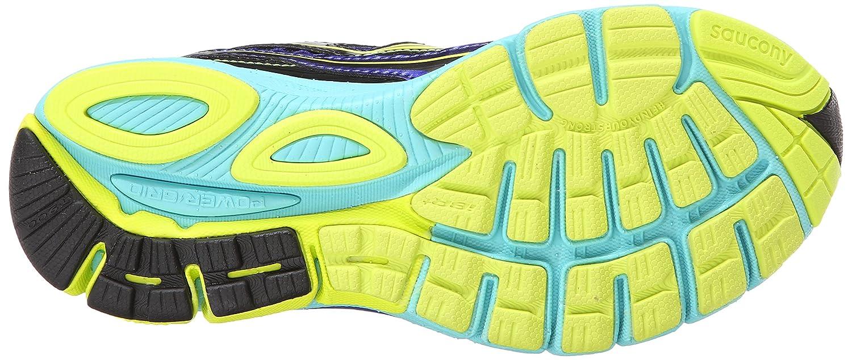Saucony Women's Ride 7 Running Shoe B00KPU1MTS 8 B(M) US|Twilight/Oxygen/Citron