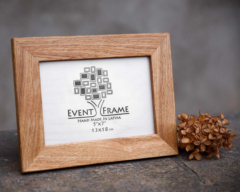 12-5x7 Solid Oak Wood Picture Frames Photo Frames