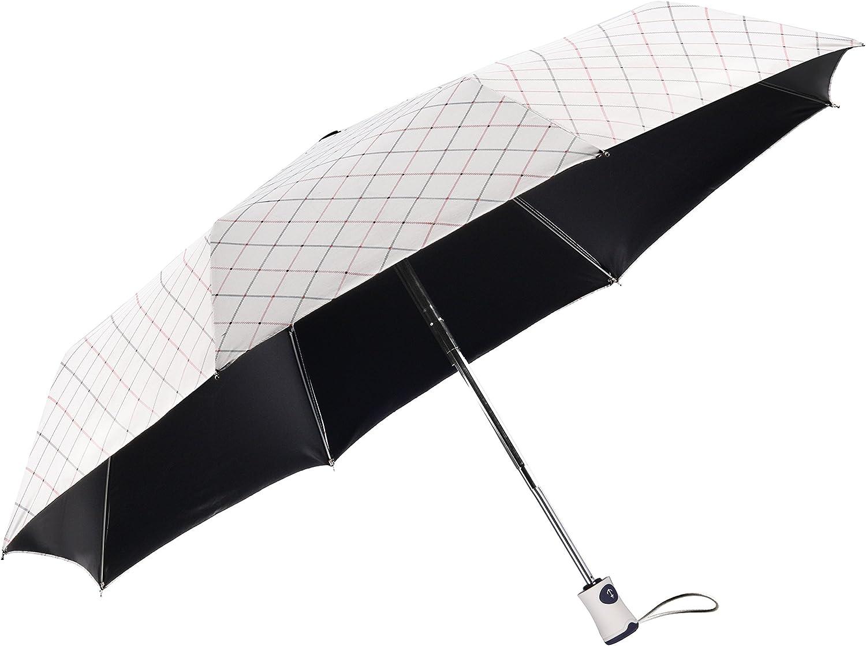 ICE Woolala parapluie 3 fois Rétractable Vent Et étanche anti-UV NOUVEAU *