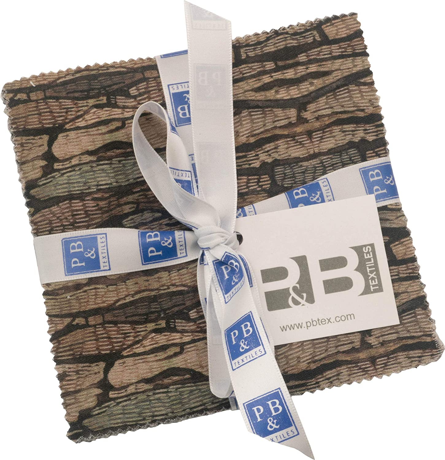 Jetty Home Forest Retreat Charm Pack 42 5-inch Squares P&B Textiles
