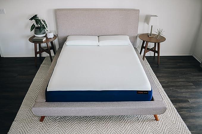 Amazon.com: Unplug Full Mattress 8 inch 2-Layer Gel Memory Foam System, Bed in a Box, Thermocool Knit-Stretch Cover, 101 Night Trial, 10 - Year Warranty, ...