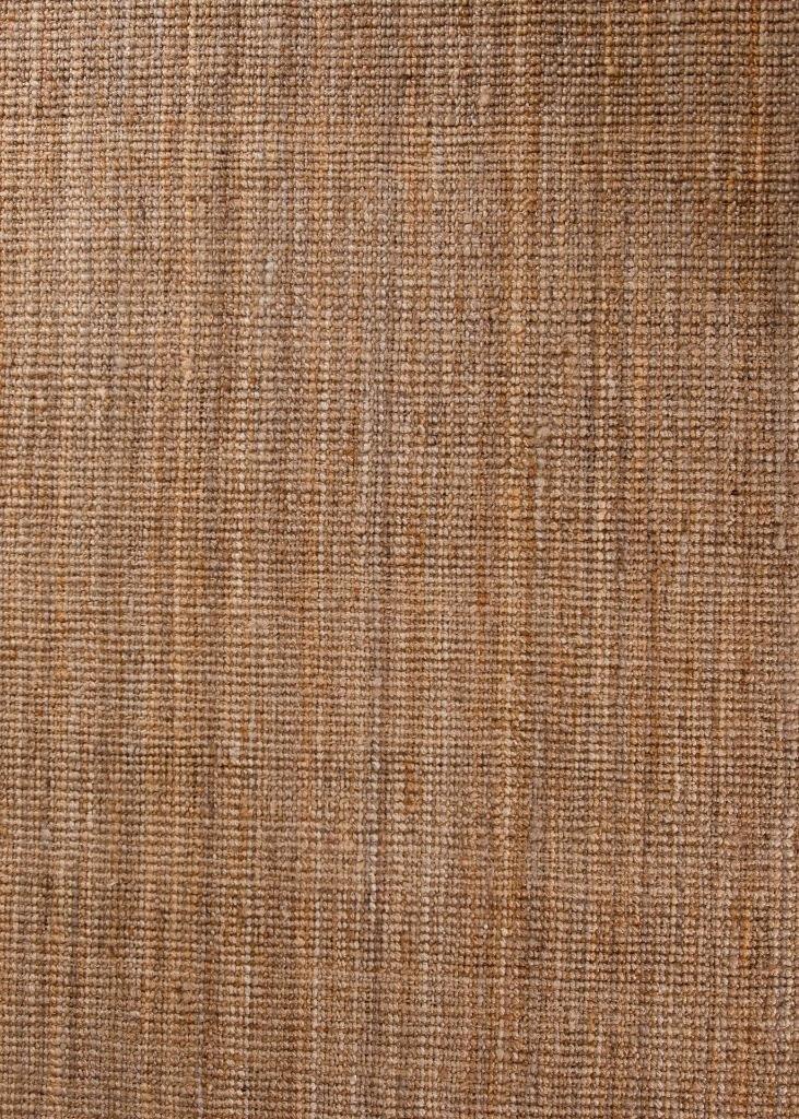 Persian-Rugs HS Dara Handspun Natural Jute 8x10 Area Hand Woven