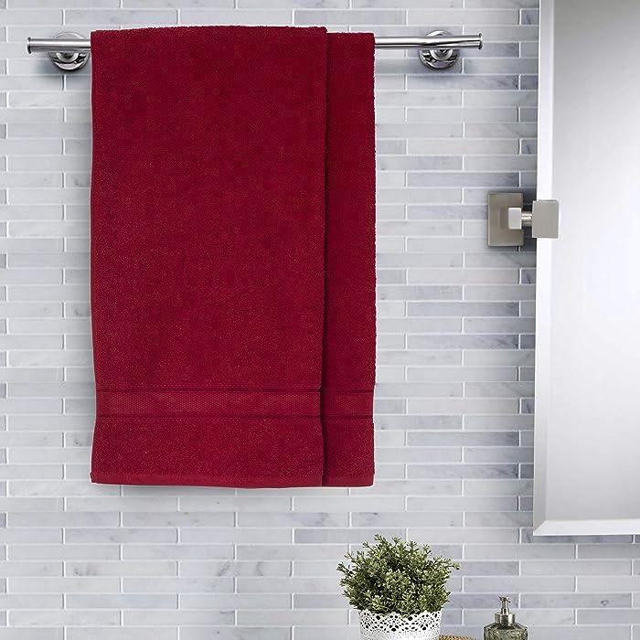 Maspar bath towel up to 62% off + Extra Coupon at Amazon