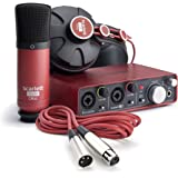 Focusrite Scarlett Studio Pack d'enregistrement/production Noir