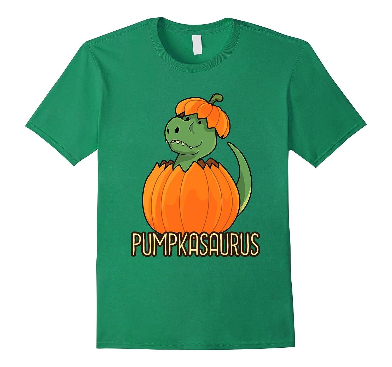 Halloween Thanksgiving Pumpkasaurus Pumpkin Dinosaur T Shirt