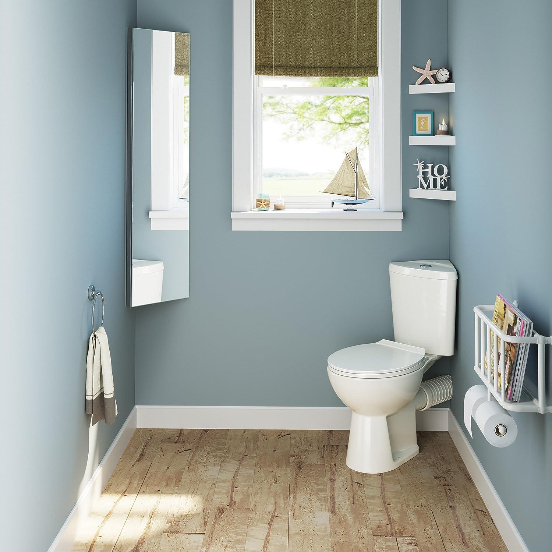 1200 X 300 Tall Stainless Steel Corner Bathroom Mirror Cabinet Modern Storage Unit Mc105 Home Kitchen Cabinets