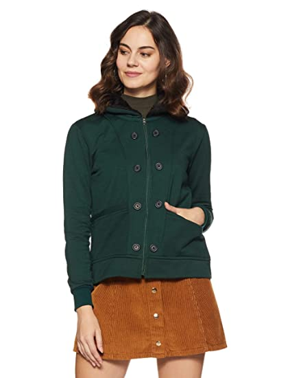 46b7d62fb6 Belle Fille Women's Fleece Jacket: Amazon.in: Clothing & Accessories