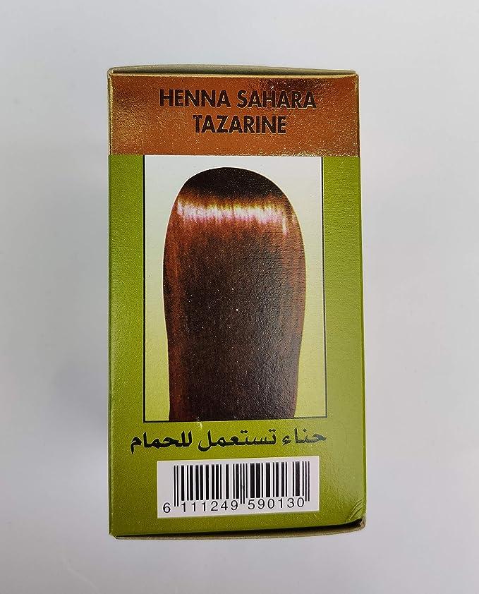 1 Henna especial Sahara Tazarine para pelo.