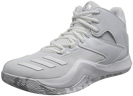 adidas Performance Mens Derrick Rose 773 V Basketball Hi Top Shoes ...