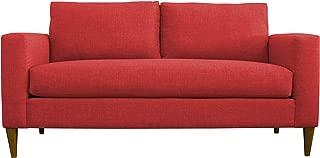 product image for BuildASofa Frank Midsize Sofa (Bennett Red)