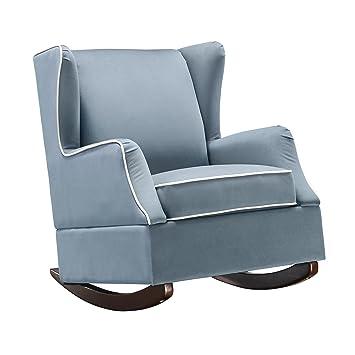 Amazon.com: Dorel Living Baby Relax Hudson WINGBACK tapizado ...