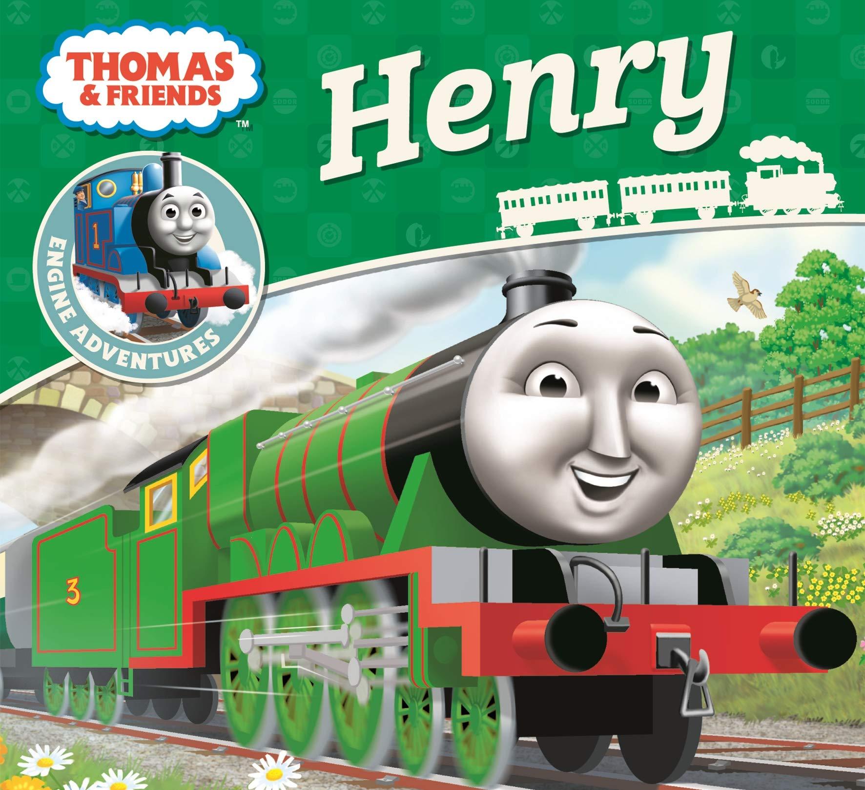 Thomas Friends Henry Thomas Engine Adventures 9781405279772 Amazon Com Books
