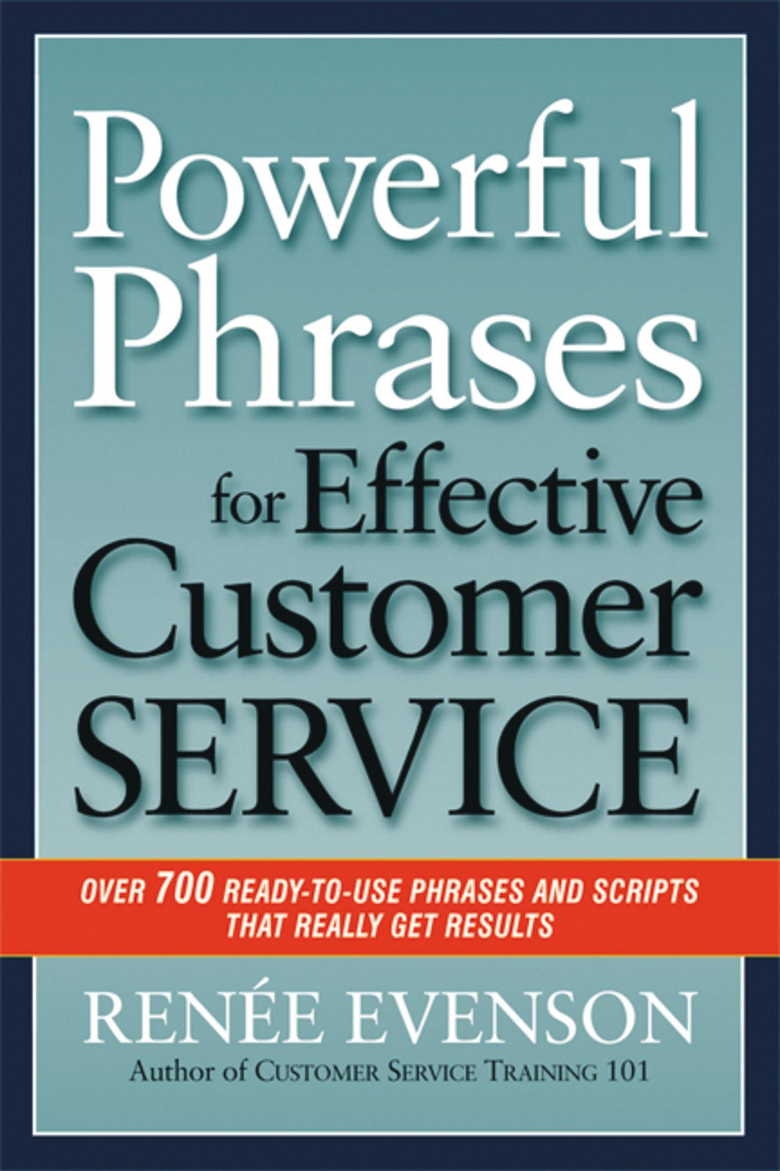 best customer service phrases