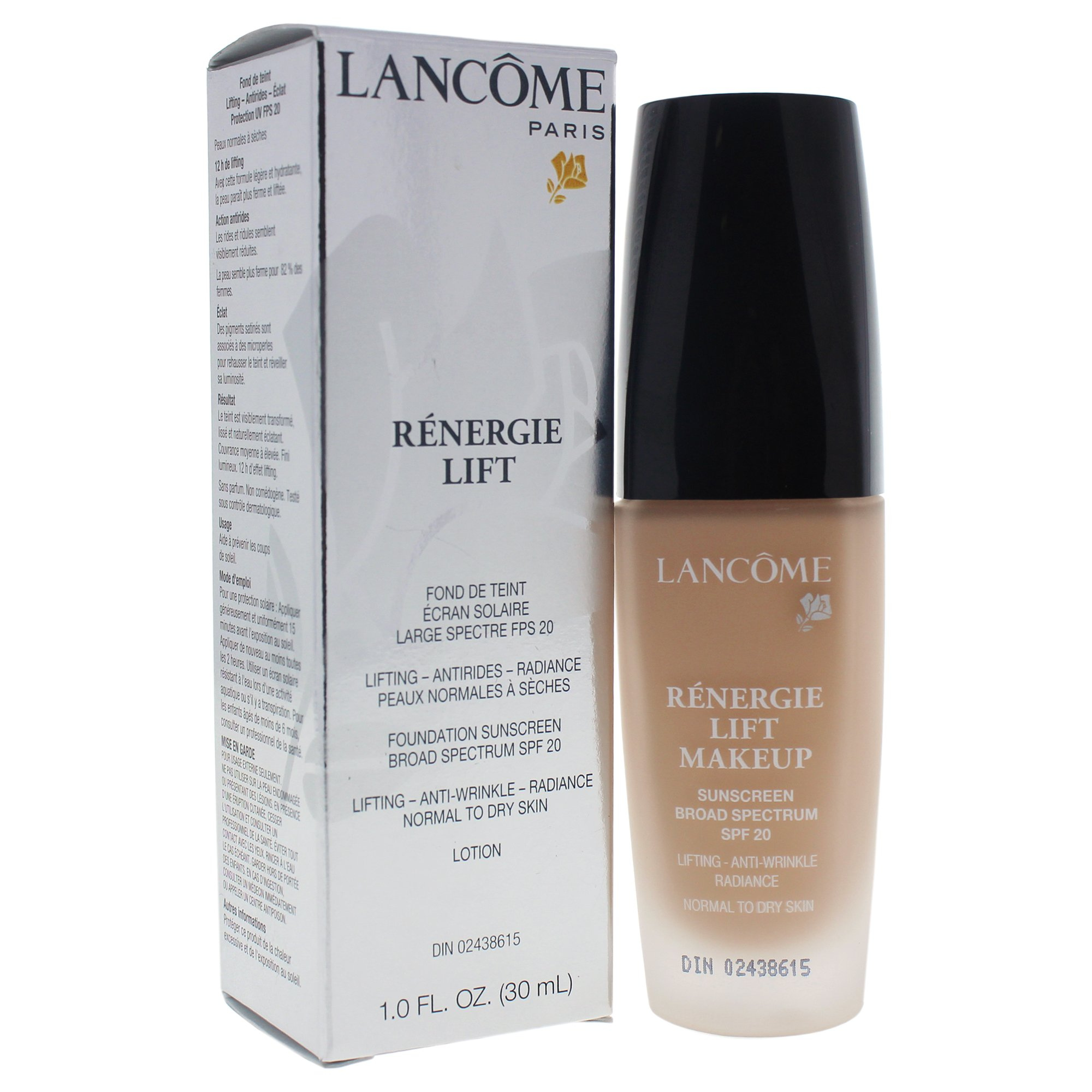 Lancome Renergie Lift Makeup Foundation SPF 20, 240 Clair 10 (C)
