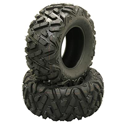 Tires 2 25x11-12 Rear Mud 6x6 … 25x10-12 Front & 4 Set 6 WANDA ATV ...