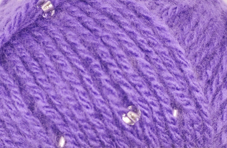 Acrylic Yarn with Glass Beads 50g Sirdar Moonstone Knitting Crochet Yarn